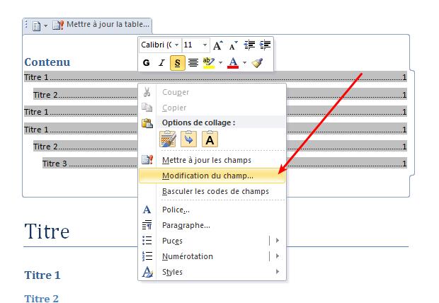 microsoft office word   changer la structure d u0026 39 un sommaire