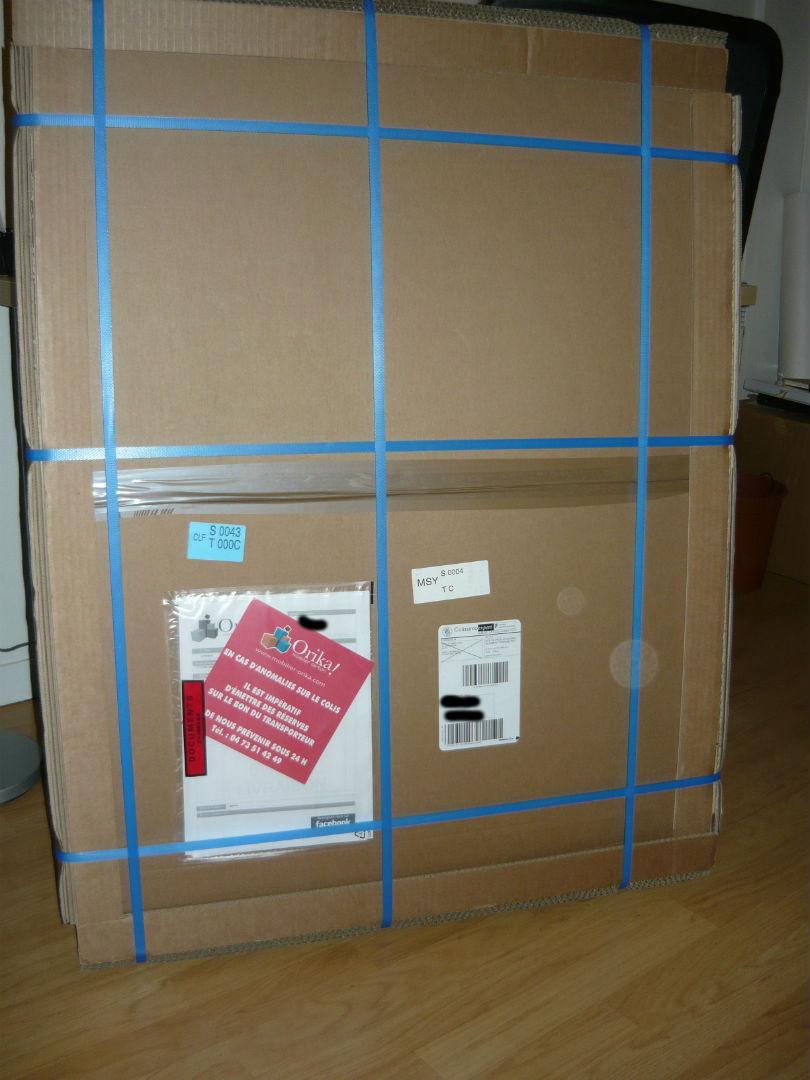 un sapin de n el en carton litt ralement tym project. Black Bedroom Furniture Sets. Home Design Ideas